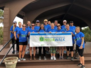 Chrysalis Center Staff presents the Wilmington NEDA Walk
